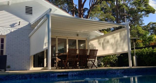 Poolside Entertaining   Corradi Iridium Retractable Roofing System   St  Ives   Flynn (5)