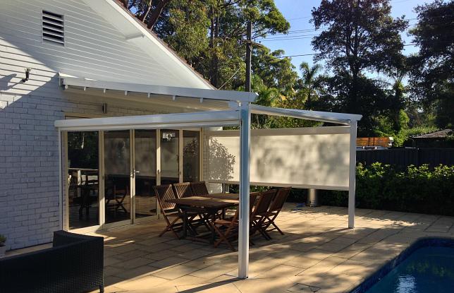Poolside Entertaining   Corradi Iridium Retractable Roofing System   St  Ives   Flynn (6) ...