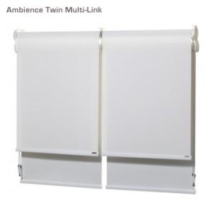 Verosol ambience twin multi link roller blind