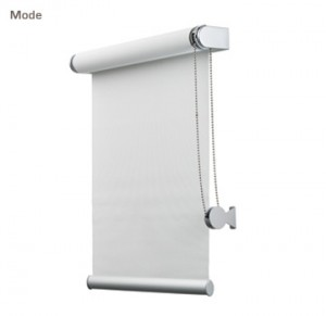 Blackout Blinds Side Channels Boxed Motorized Hotel: motorized blackout shades with side channels