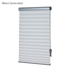 Verosol mono controlled pleated blind