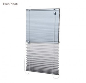 Verosol twin pleated blind