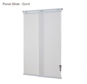 Verosol panel glide blind with cord