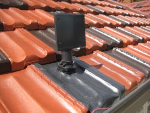 Roof mount tile - 3